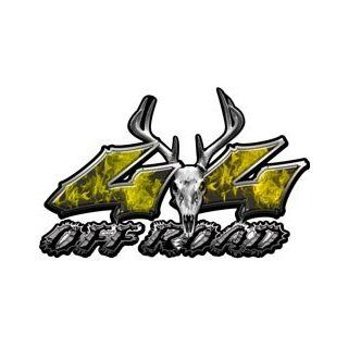 Deer Skull Wicked Series 4x4 Off Road Inferno Yellow