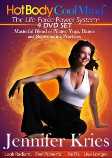 Jennifer Kries Hot Body Cool Mind Collection New 4 DVD