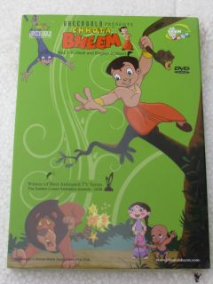 Chhota Bheem Vol 1 DVD Hindi TV Series Bollywood India