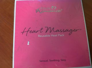 New Pure Romance Heart Massager Reusable Heat Pack