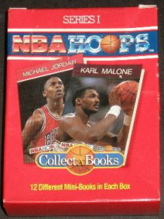 1990 NBA HOOPS COLLECT A BOOKS FACTORY SEALED BOXED CARD SET w MICHAEL