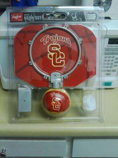 New USC Basketball Hoop/Net/Backboard & Soft Ball Fun Playing For