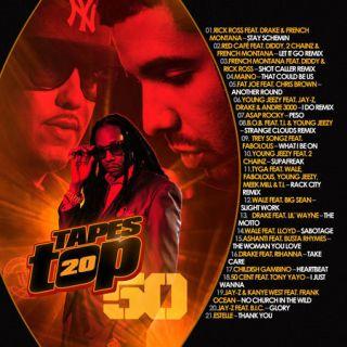 Hip Hop Rap R B Pop Hits Bizkit Tapes Top 20 Vol 50 Official Mixtape