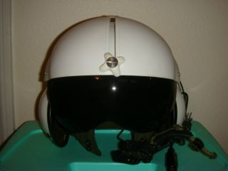 Pilot Helmet Helicopter Airplane Working Comms Large Gentex