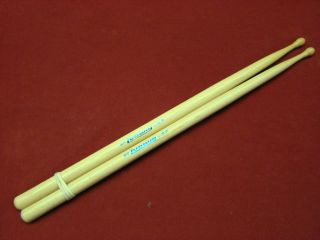 vintage nos LUDWIG 9A   wood tip Hickory Drum Sticks 1970s NOS