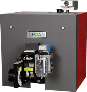 "Crown ""Freeport"" ODV 125 Oil Fired Hot Water Boiler Furnace"