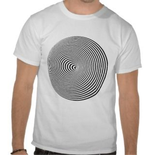 Optical Illusion digital pattern tshirt