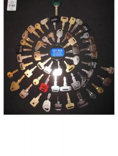 52 HEAVY EQUIPMENT KEY SET! VOLVO LASER KEY INCLUDED!!