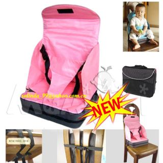 Kid Toddler Infant Feeding High Chair Booster Seat Cover Cushion Pink