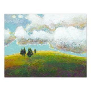 Landscape painting contemporary impressionism art invites