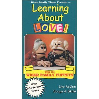 Learning About Love [VHS] Wiser Family Puppets, Animated