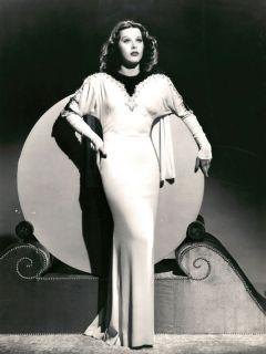 Hedy Lamarr Photo Beautiful in White Dress 7