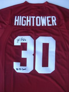 DontA Hightower Signed Alabama Nike Football Jersey Auto 2011 Proof