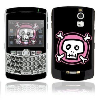 Pink Crossbones Decorative Skin Cover Decal Sticker for