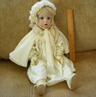 Porcelain Girl Doll by Dianna Effner Hillary 1987 Ultimate Collection