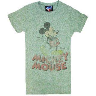 Junk Food Disney Mickey Mouse Retro Womens T Shirt (Small