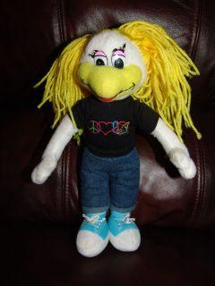 Chuck E Cheeses Girl Helen Plush Doll 11