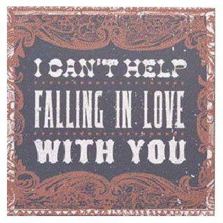 Demdaco 100347 Cant Help Falling In Love Wall Art