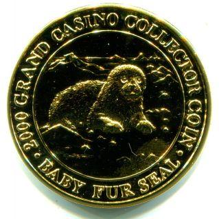 grand casino coushatta 1998 collector coin series