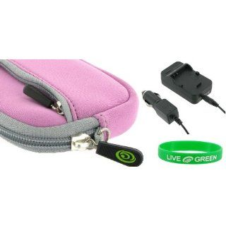 2n1 Neoprene Sleeve Case (Lilac) and CNP 40 AC DC Charger