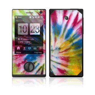 Colorful Dye Decorative Skin Cover Decal Sticker for HTC