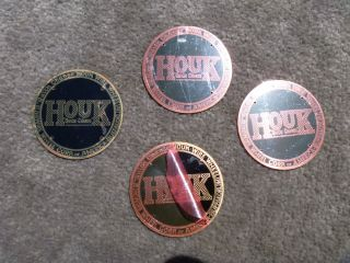 Model T Ford Wire Wheel Hub Cap Houk Name Plates