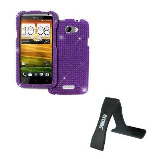 EMPIRE AT&T HTC One X Full Diamond Bling Case Cover