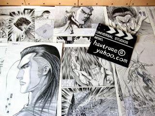 Original Comic Art of More Than 10000 Pages Sold at Low Price Very