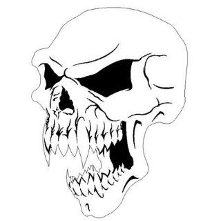 VAMPIRE SKULL 3  AIRBRUSH STENCIL AIR BRUSH TEMPLATE