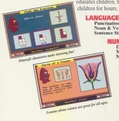 School House PC Collection of Educational Programs Game