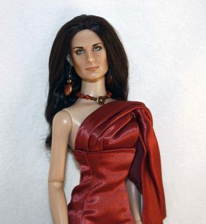 Tonner Serafina Pekkala Repaint OOAK  Demi Moore  with OOAK Outfit