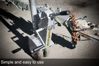 Trailer Valet Truck Tow Hitch Dolly Swival Jack and Trailer Mover 9090