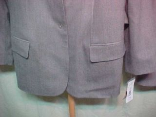 Harve Bernard Holtzman $210 Plus Womens Skirt Suit 24W