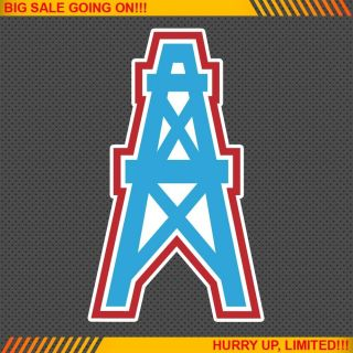 Houston Oilers NFL Football Logo Car Bumper Window Wall Sticker