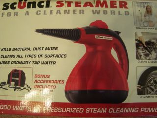 1000 Steamer Household Cleaner Accessories Bag Manual Home Car