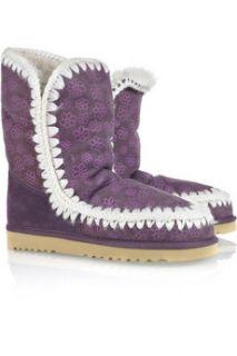 Mou Eskimo suede boots