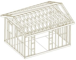 Roof Backyard Shed Plans Build It Yourself How to Build A Shed