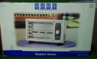 Home Essentials Radiant Heater with 2 Settings, # HQ708