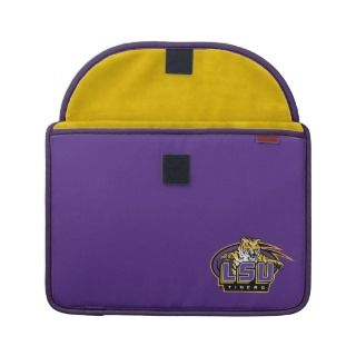 LSU Tigers with Tiger Mascot MacBook Pro Sleeves