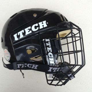 Itech HC15 Hockey Helmet with Cage, Youth Small, Lightly Used