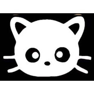 CHOCOCAT (Hello Kitty) WHITE Vinyl CAR Sticker/Decal ON
