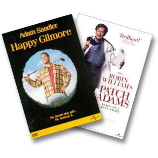 Happy Gilmore & Patch Adams Adam Sandler, Robin Williams