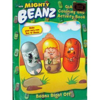 Mighty Beanz Giant Coloring & Activity Book   Beanz Blast