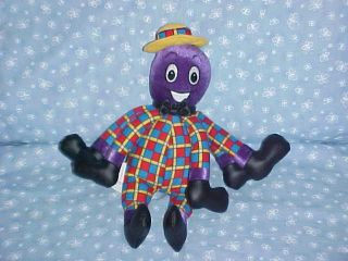 Talking HENRY the OCTOPUS The Wiggles Plush Stuffed Animal SINGING Toy