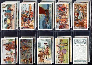 Tobacco Card Set Lambert Butler Pirates Highwaymen 1926