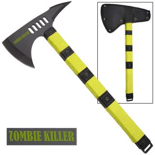 Zombie Tactical Assault Tomahawk New Axe Zombie Killer Throwing