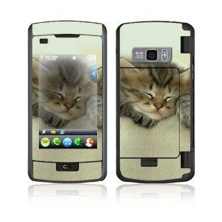 Animal Sleeping Kitty Decorative Skin Cover Decal Sticker
