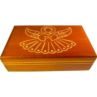 Wooden Box, 5050, Traditional Polish Handcraft, Light