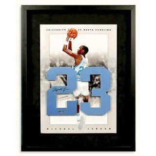 michael Jordan Autographed University Of North Carolina