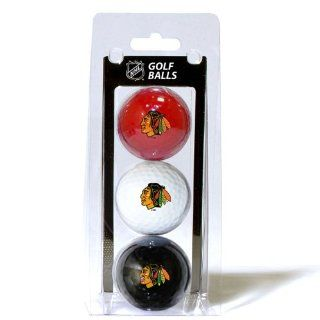 BSS   Chicago Blackhawks NHL 3 Ball Pack